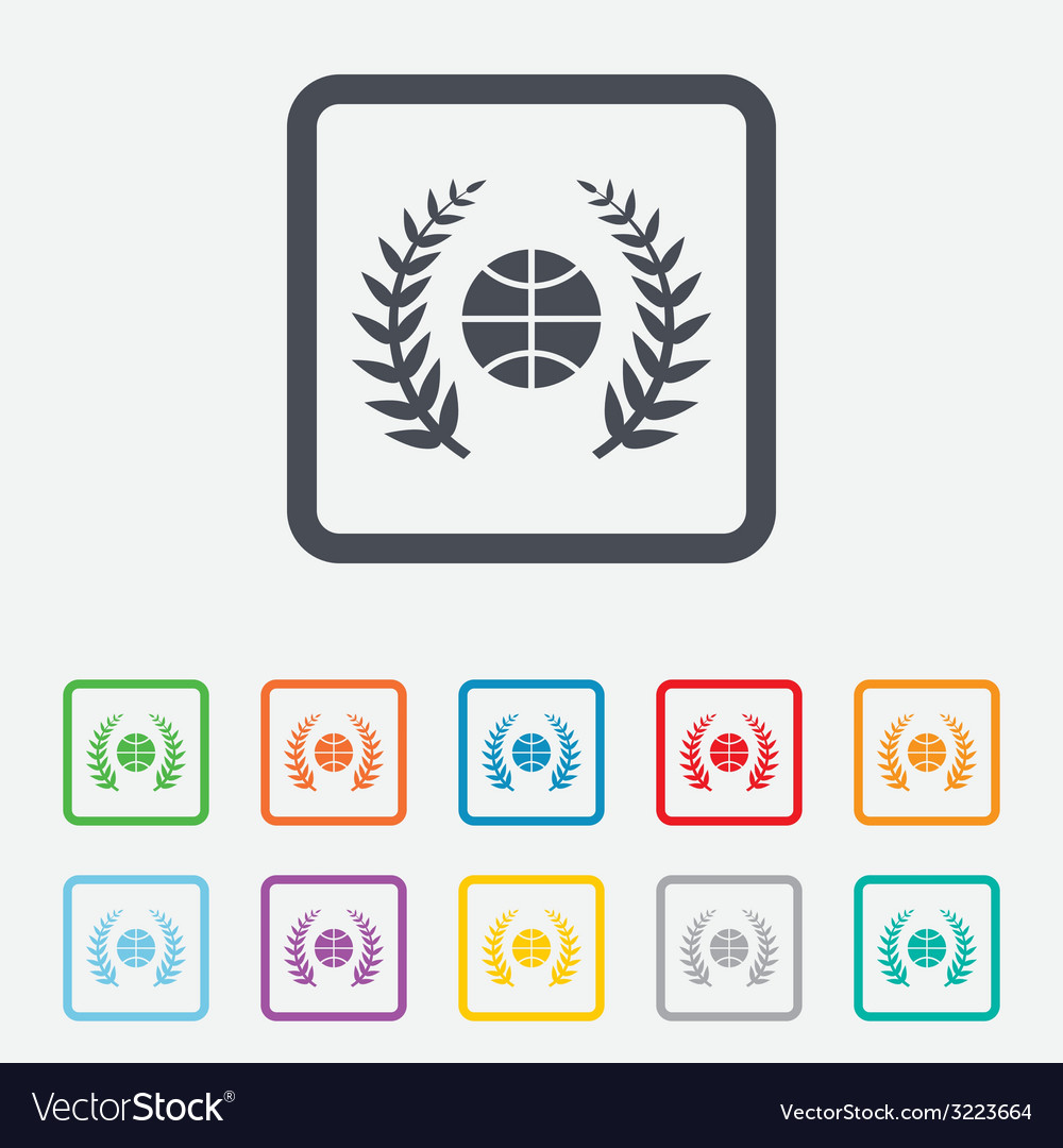 Basketball sign icon sport symbol vector | Price: 1 Credit (USD $1)
