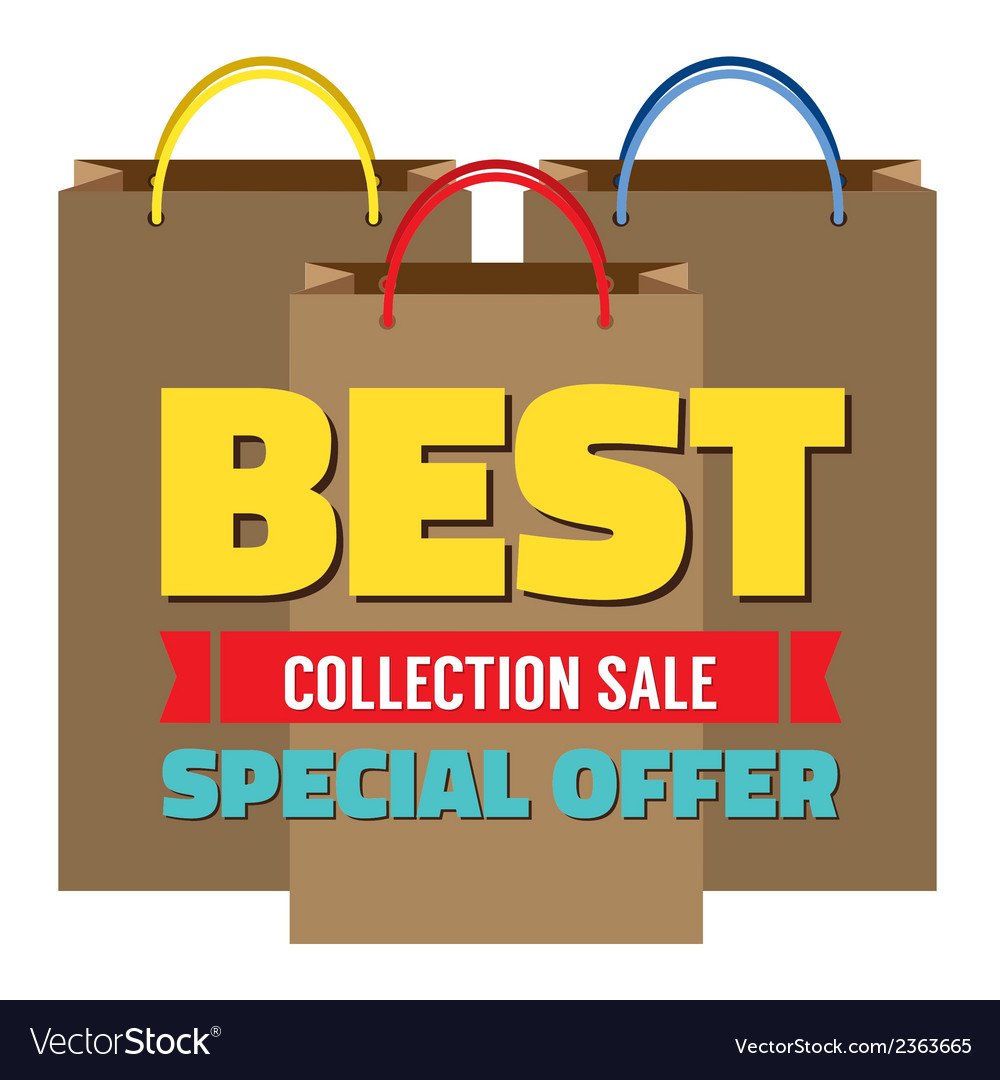 Best collection sale vector | Price: 1 Credit (USD $1)