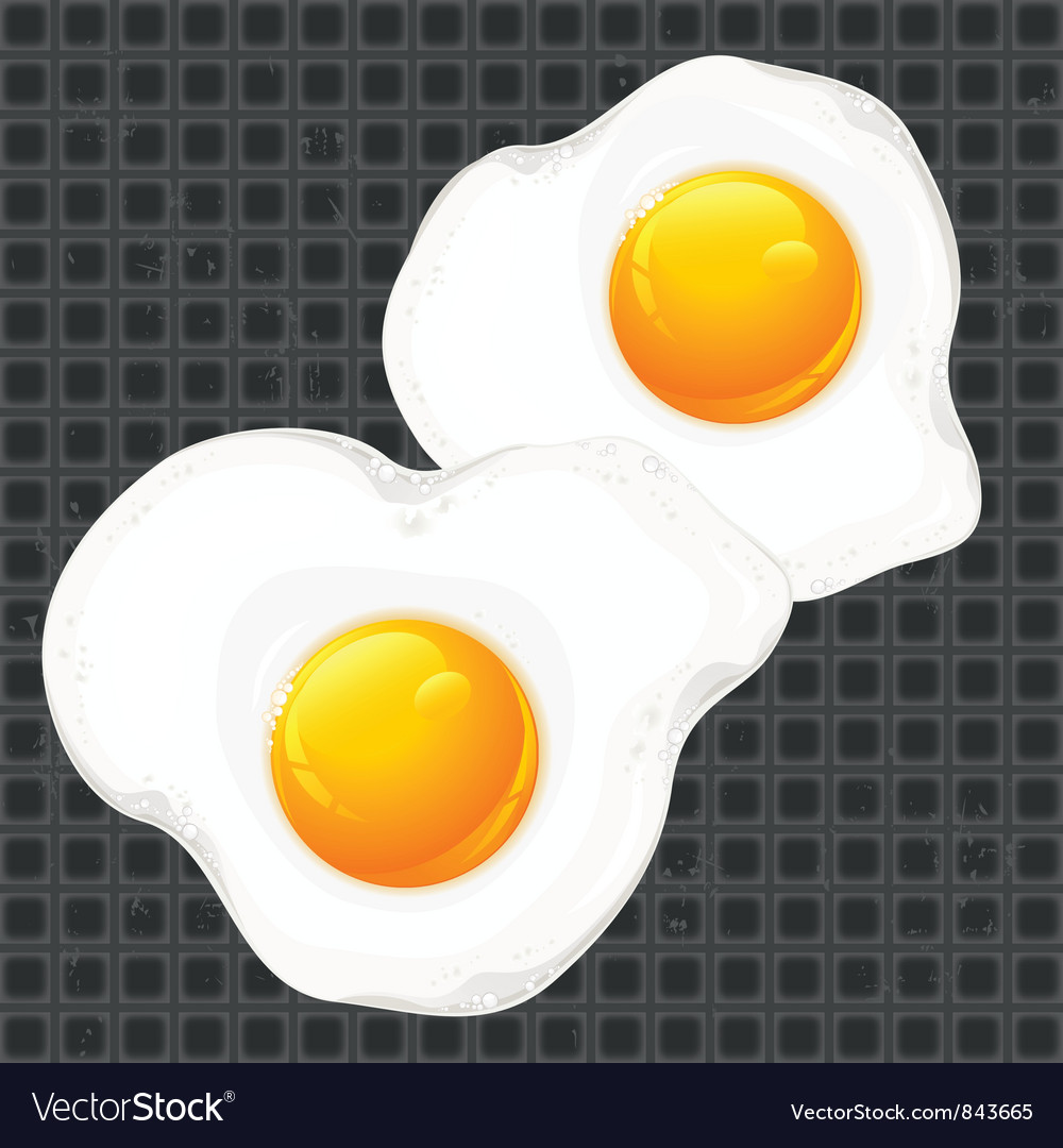 Breakfast egge pan vector | Price: 1 Credit (USD $1)