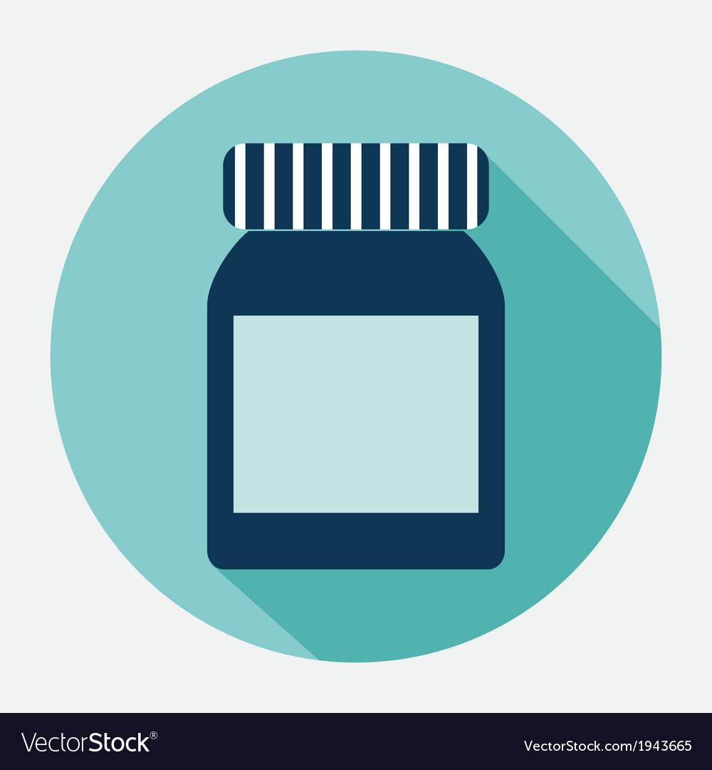 Plastic jar vector | Price: 1 Credit (USD $1)