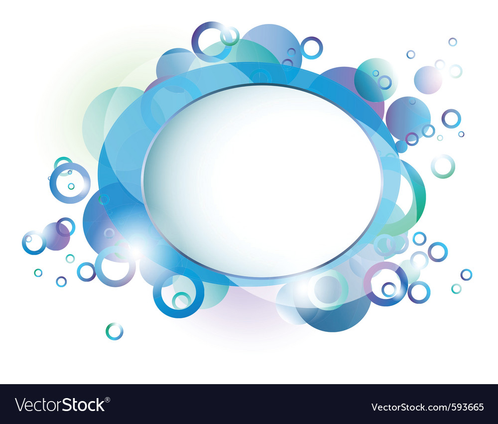 Water border vector | Price: 1 Credit (USD $1)