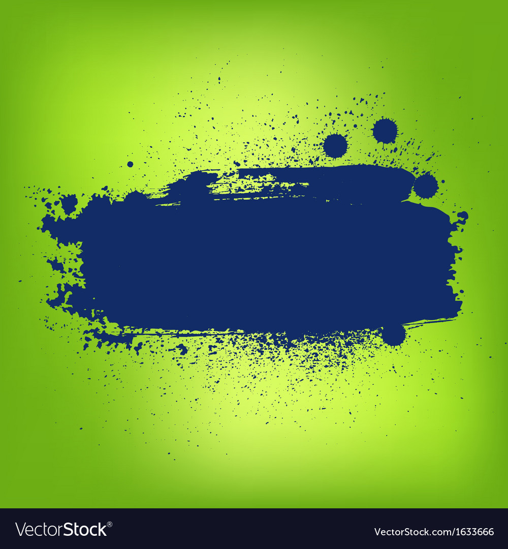 Abstract colorful paint banner vector | Price: 1 Credit (USD $1)