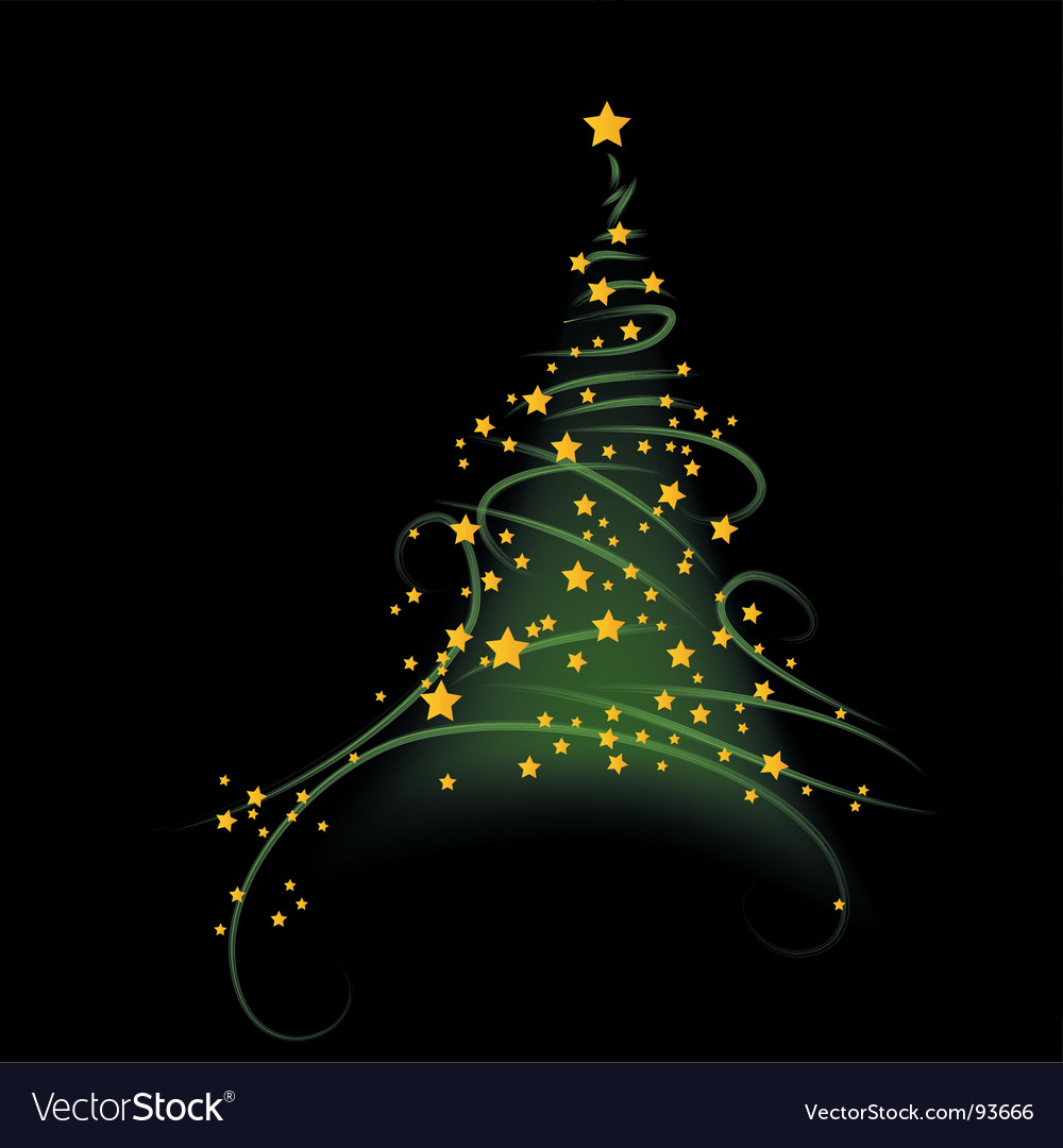 Christmas background tree illustration vector | Price: 1 Credit (USD $1)
