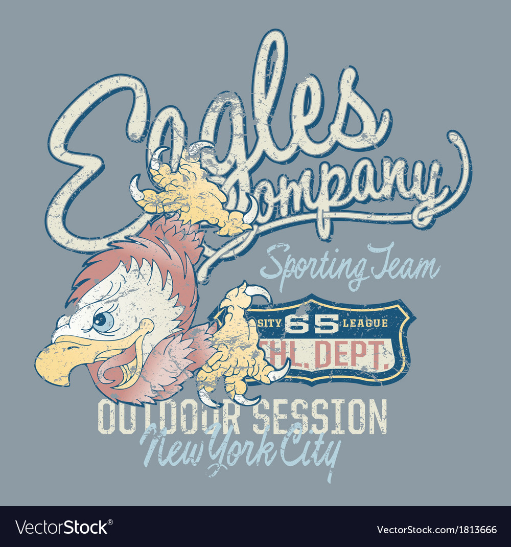 Eagles company vector | Price: 1 Credit (USD $1)