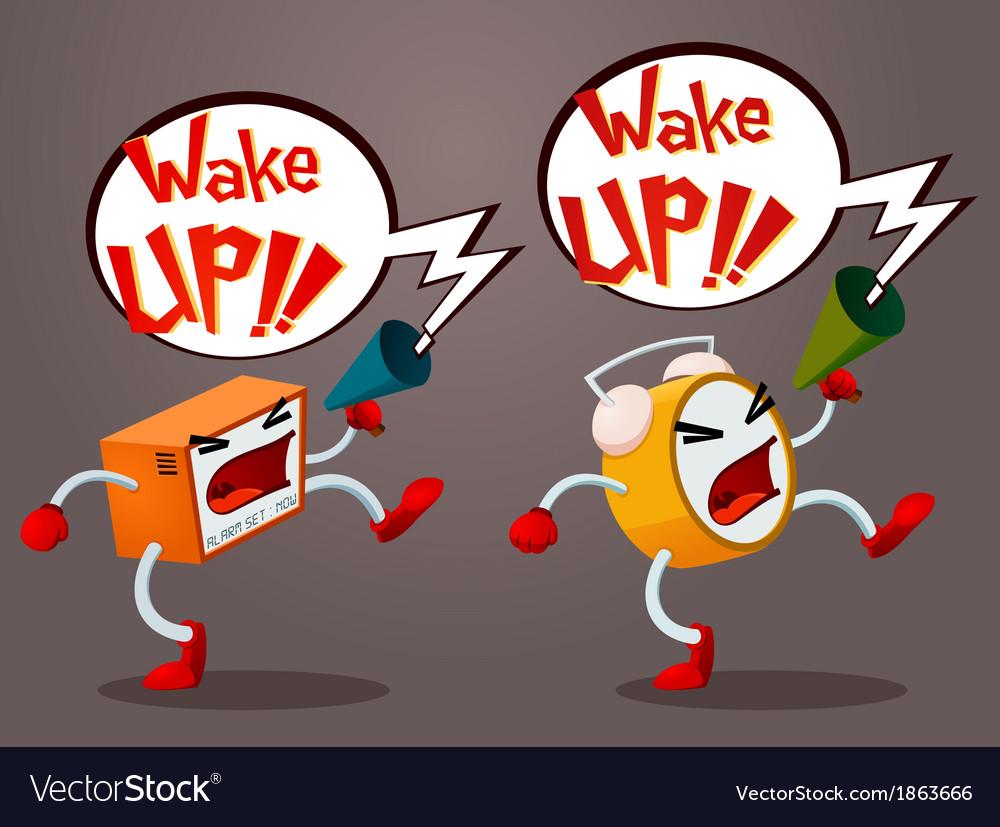 Screaming alarm vector | Price: 1 Credit (USD $1)