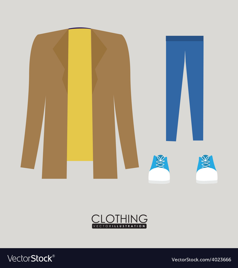 Style clothing desing vector | Price: 1 Credit (USD $1)