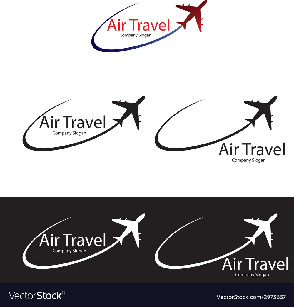 Air travel logo templates vector | Price: 1 Credit (USD $1)