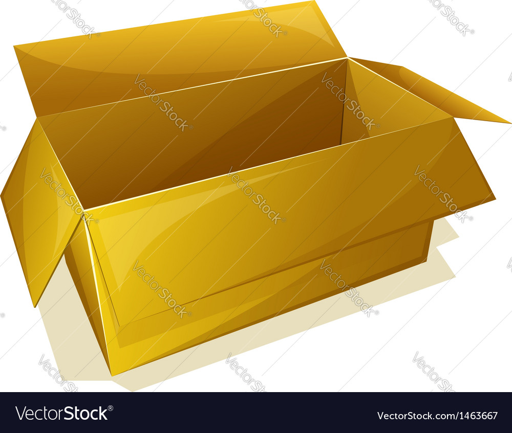 Empty box vector | Price: 1 Credit (USD $1)