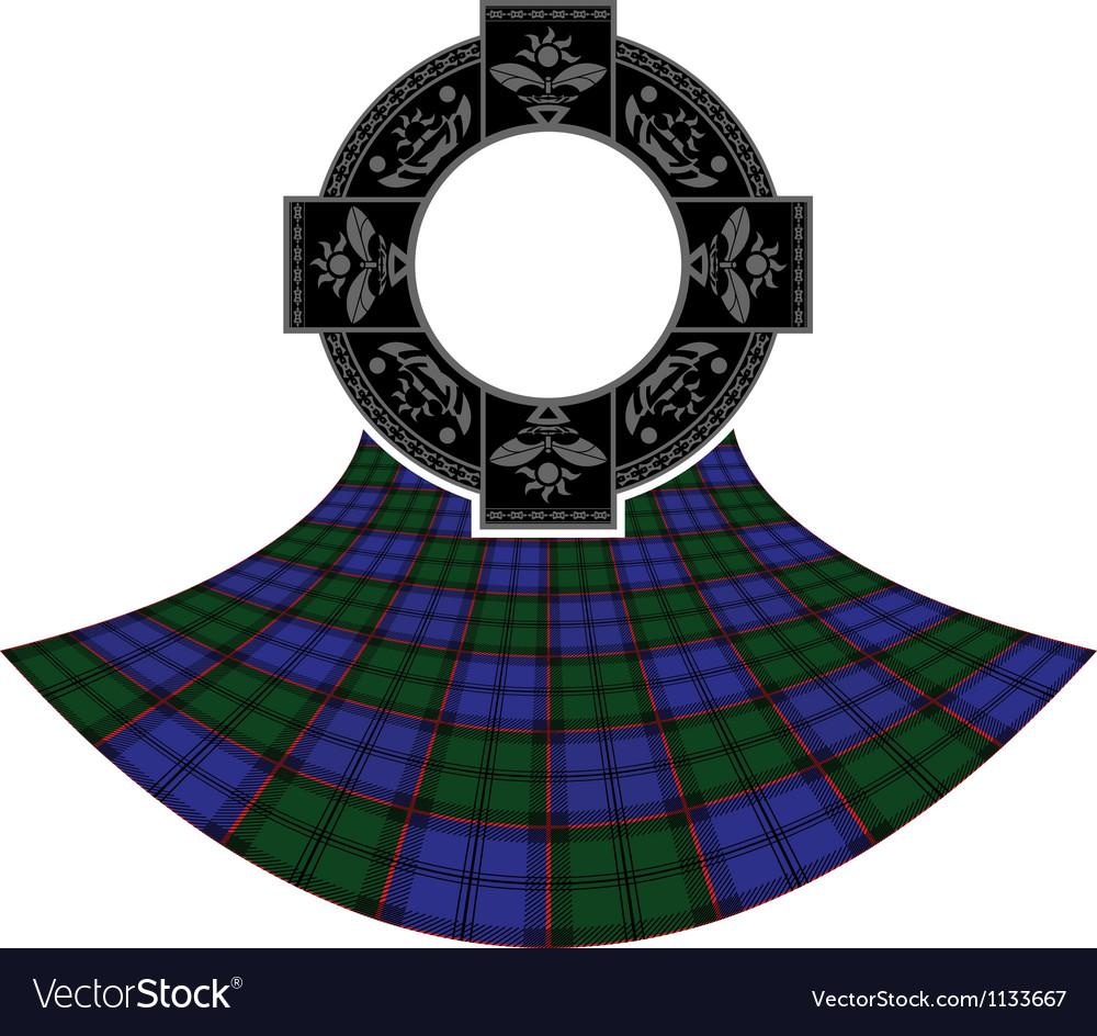 Scottish celtic ring vector   Price: 1 Credit (USD $1)