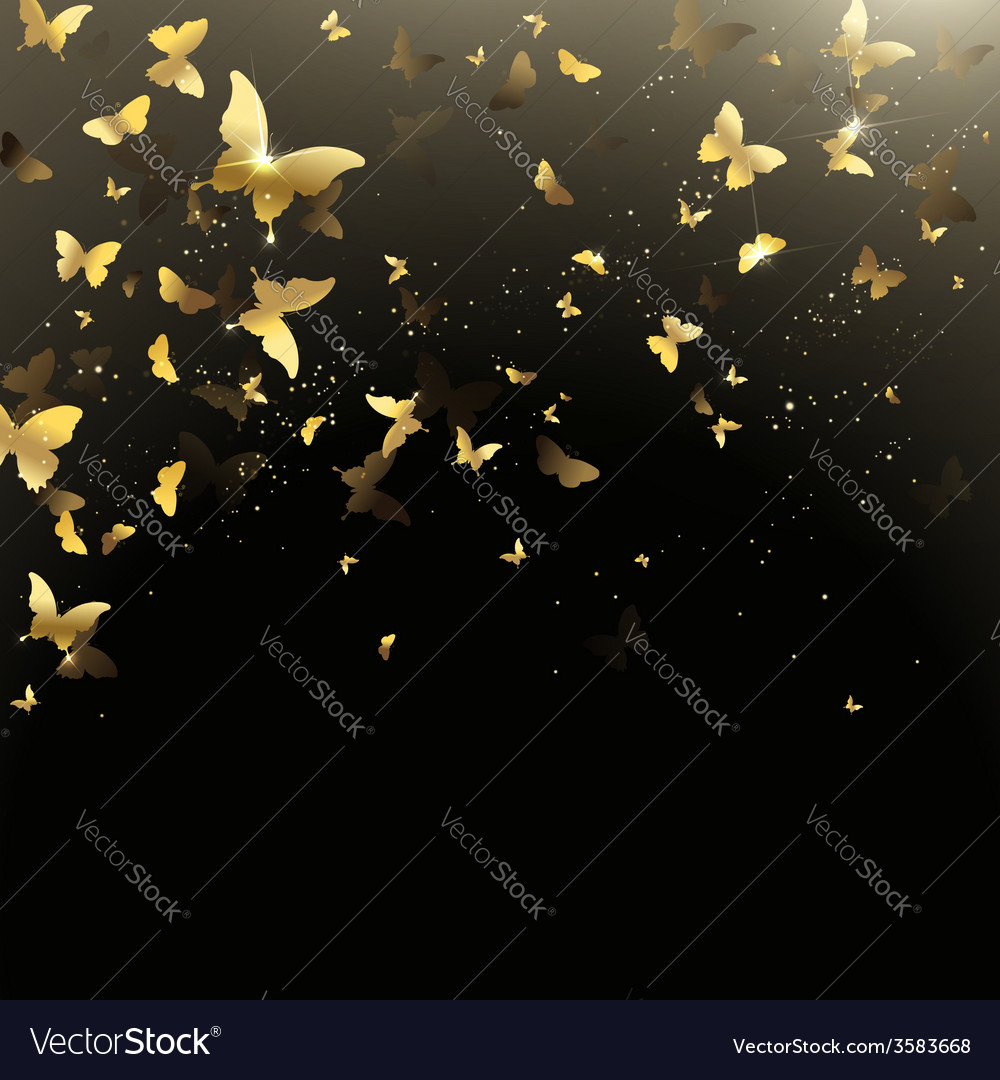 Background of butterflies confetti vector | Price: 1 Credit (USD $1)