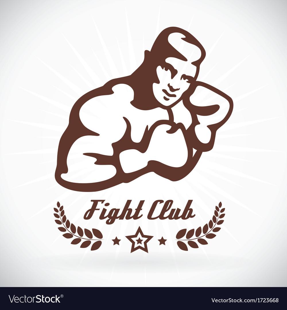 Boxer fitness model vector | Price: 1 Credit (USD $1)