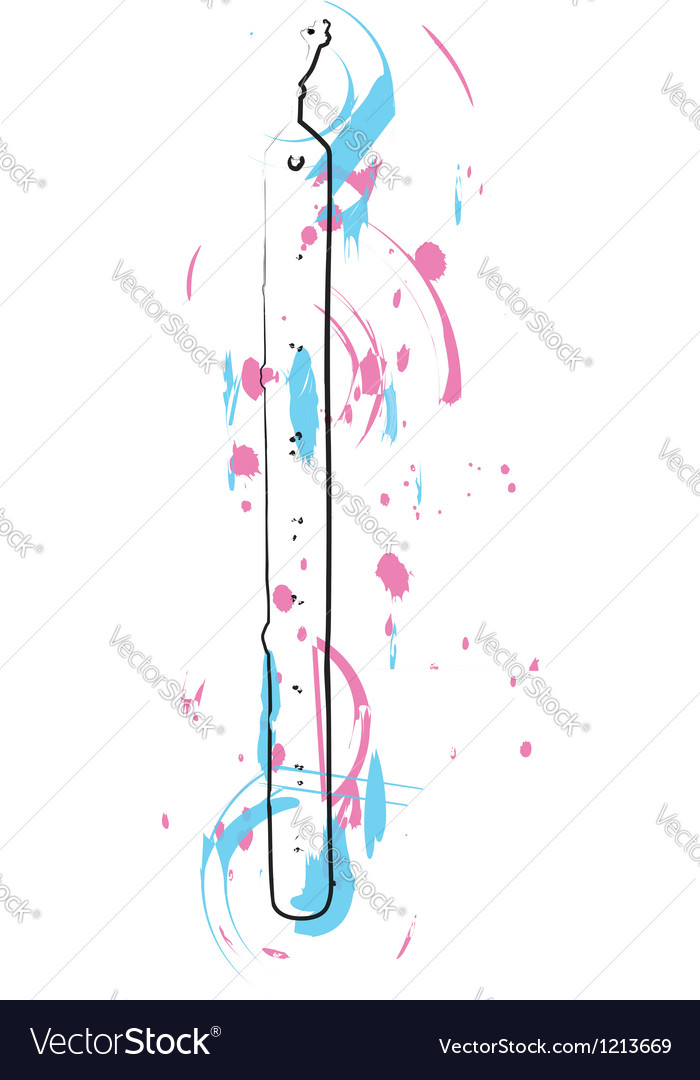 Abstract flute vector | Price: 1 Credit (USD $1)