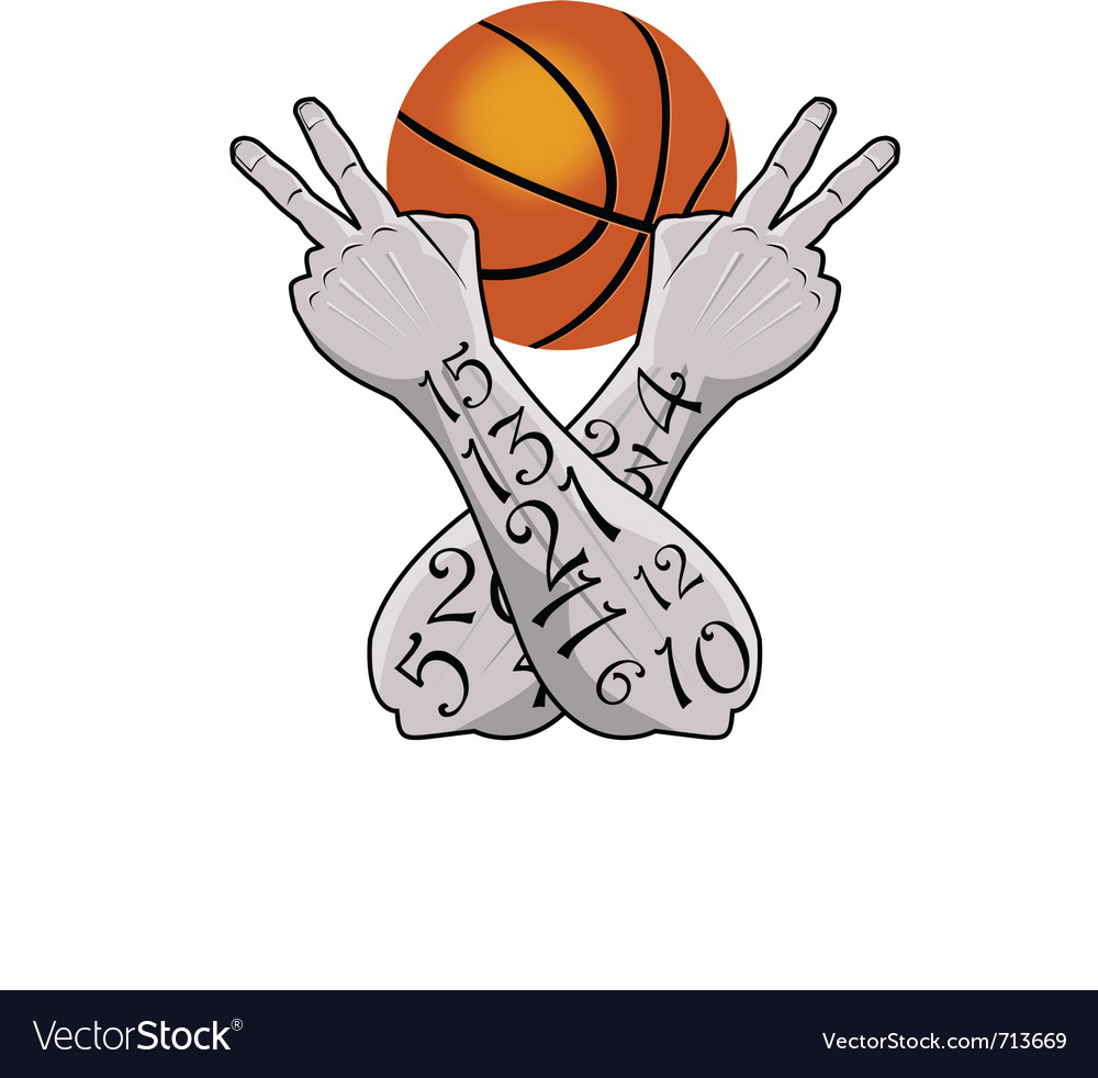 Basketball victory vector | Price: 1 Credit (USD $1)