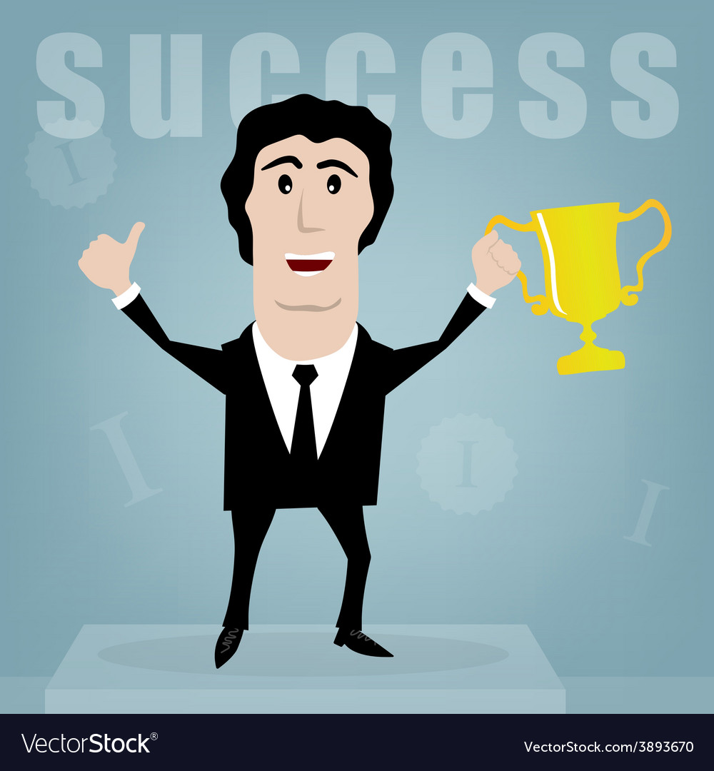 Success vector | Price: 1 Credit (USD $1)
