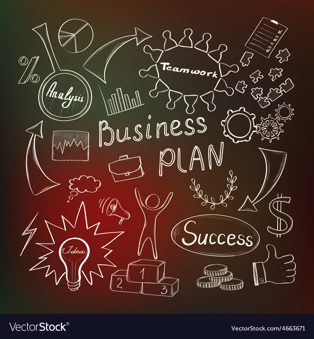 Business inspiration concept vector