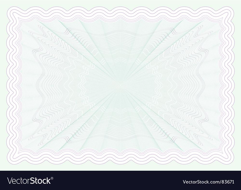 Certificate paper vector | Price: 1 Credit (USD $1)