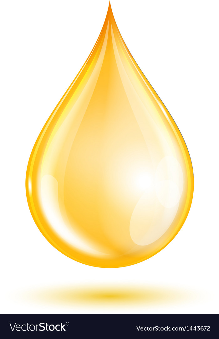 Drop of oil vector | Price: 1 Credit (USD $1)
