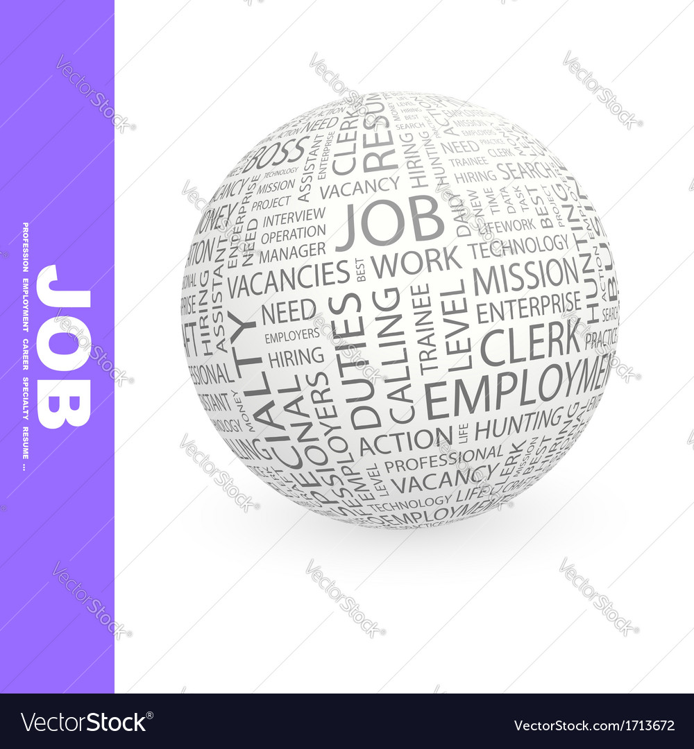 Job vector | Price: 1 Credit (USD $1)