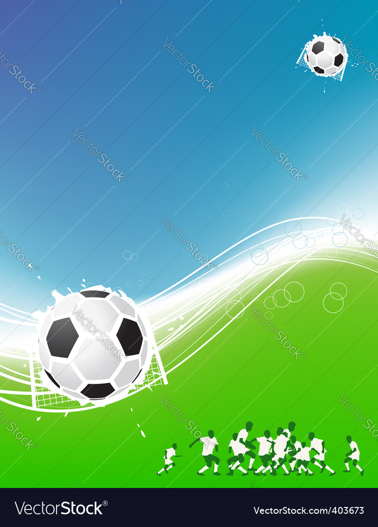Football background for your design vector | Price: 1 Credit (USD $1)