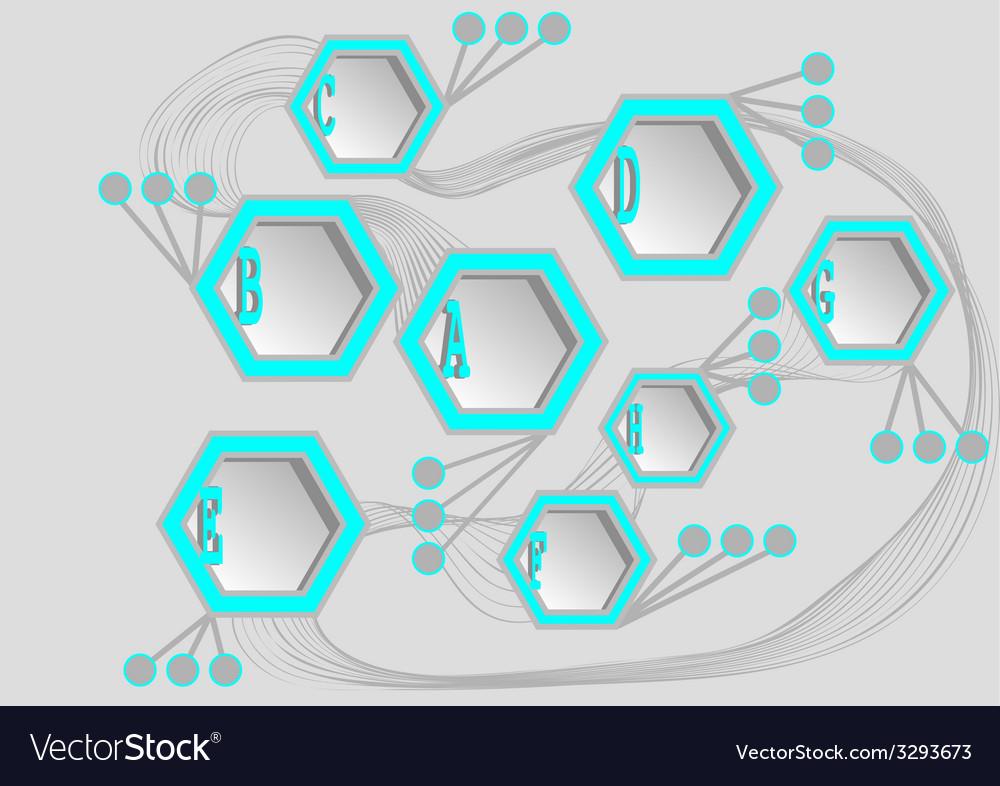 Info hexagons vector   Price: 1 Credit (USD $1)