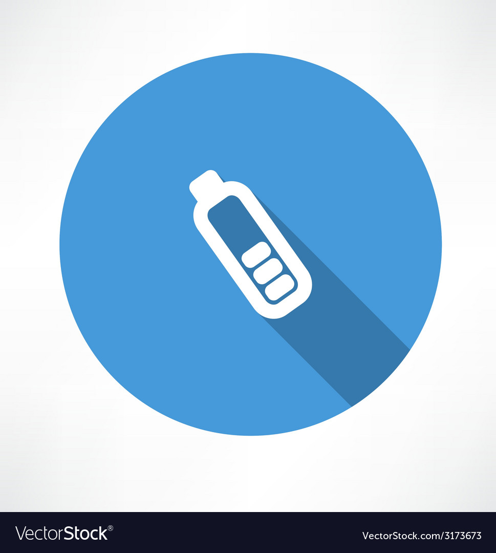 Simple battery icon vector | Price: 1 Credit (USD $1)
