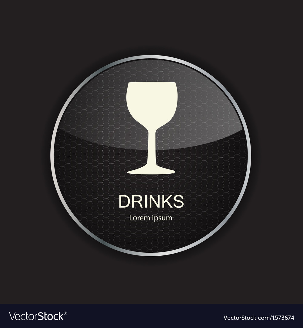Food and drink metal application icons vector | Price: 1 Credit (USD $1)