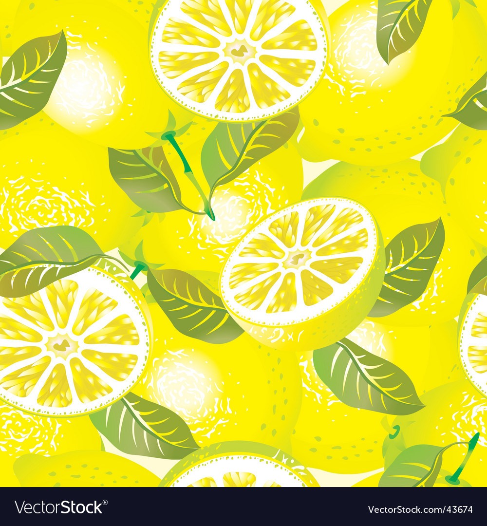 Lemon background vector | Price: 1 Credit (USD $1)