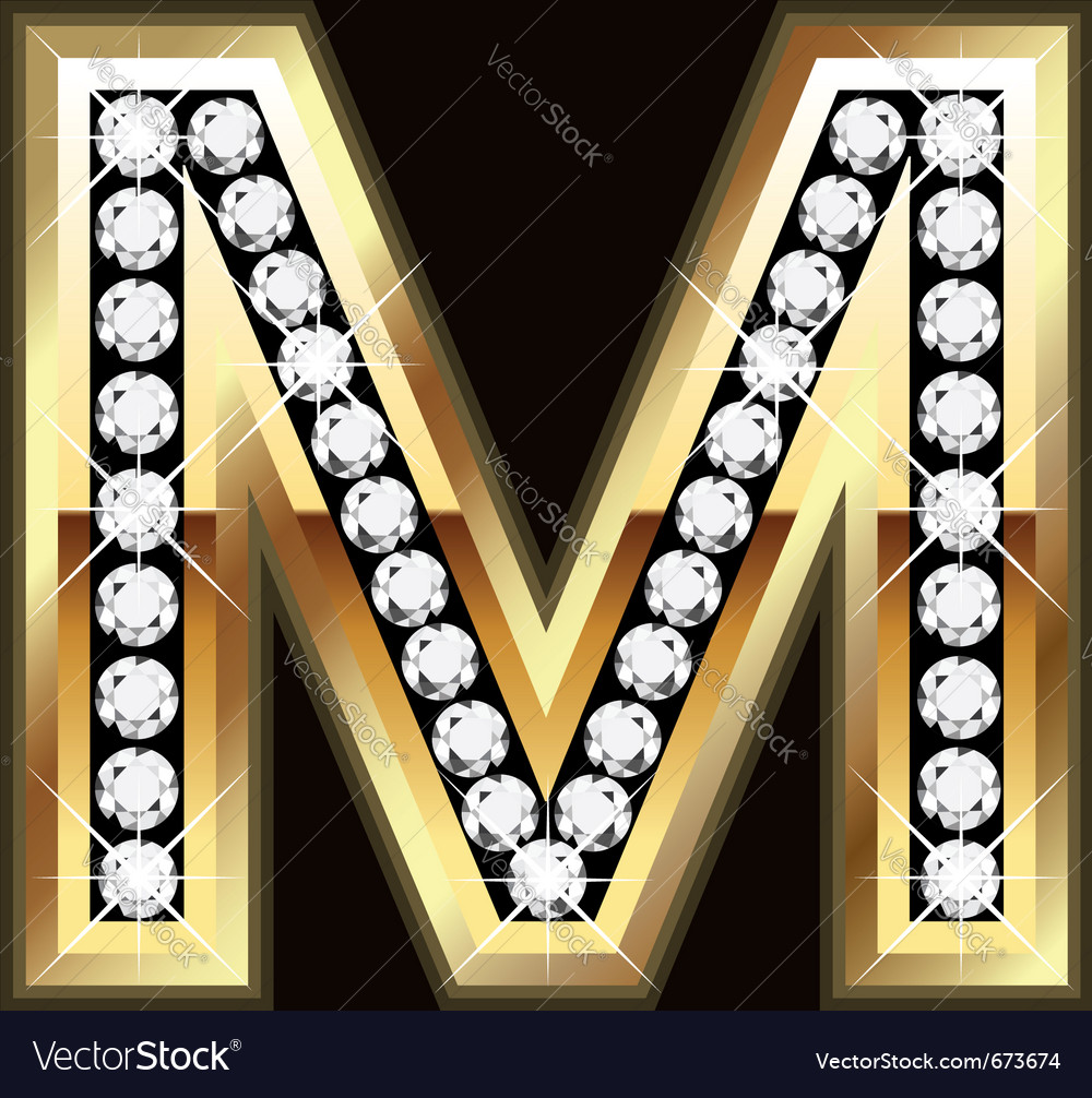 M bling vector | Price: 1 Credit (USD $1)