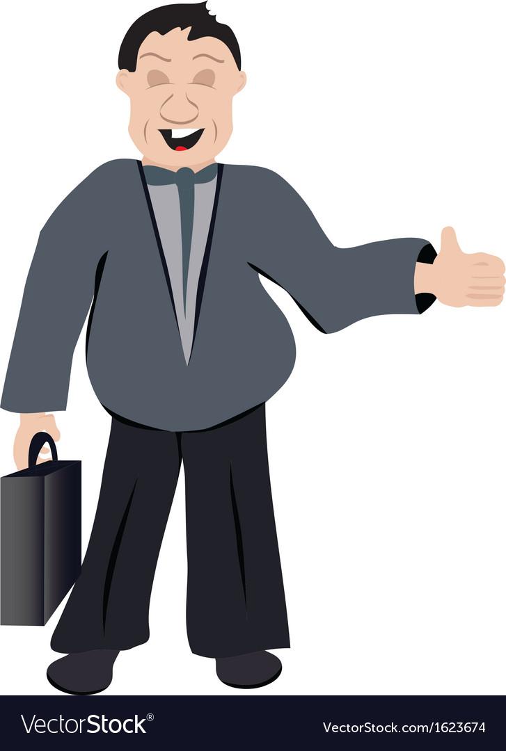 Office man vector | Price: 1 Credit (USD $1)