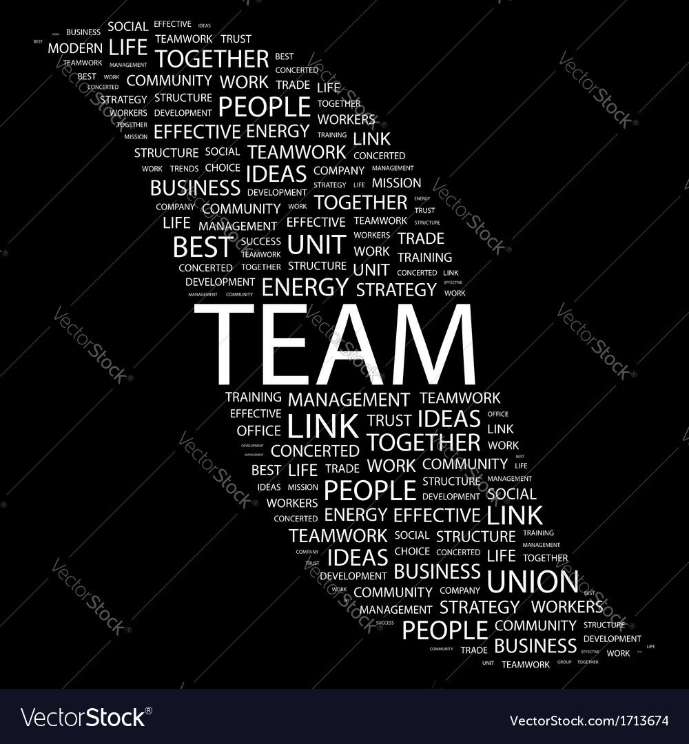 Team vector | Price: 1 Credit (USD $1)