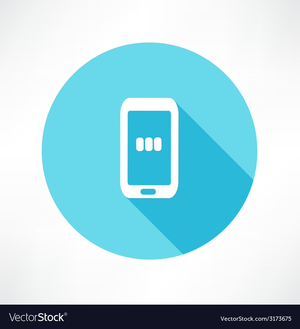 Charging - smart phone vector | Price: 1 Credit (USD $1)