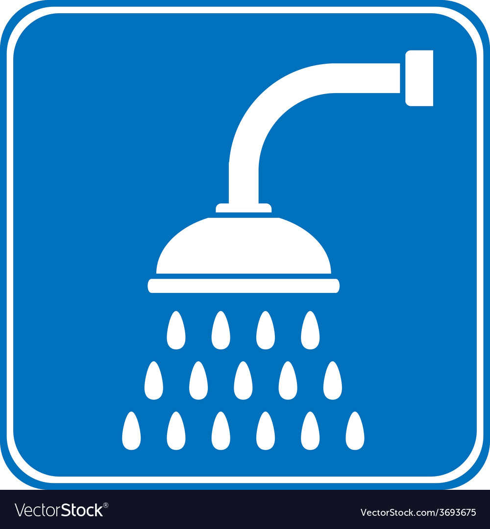 Shower icon vector | Price: 1 Credit (USD $1)
