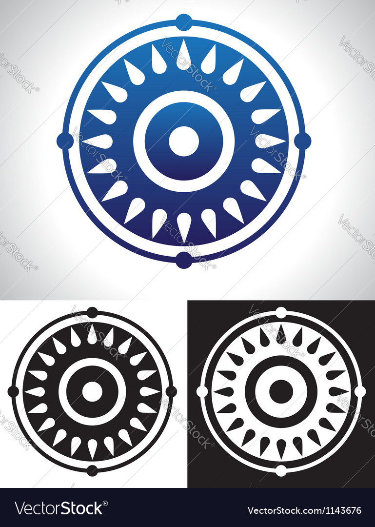 Mandala symbolism vector | Price: 1 Credit (USD $1)