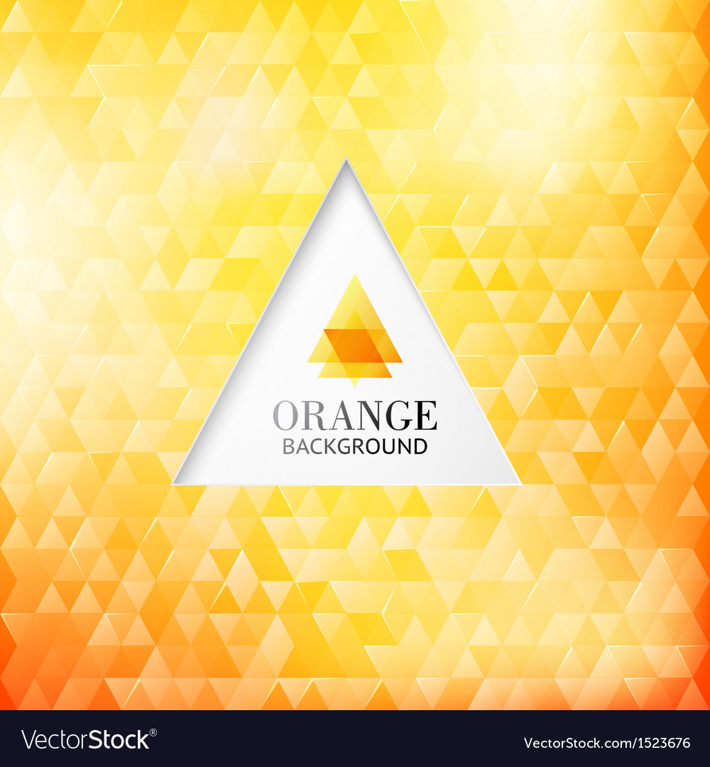 Orange modern abstraction vector | Price: 1 Credit (USD $1)