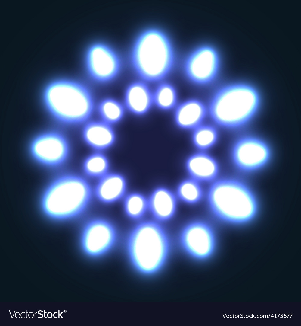 Abstract glowing background with light spots vector | Price: 1 Credit (USD $1)