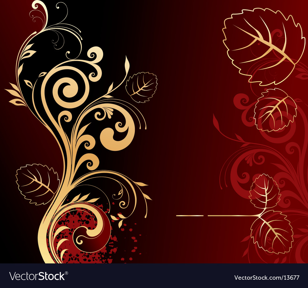 Floral background vector   Price: 1 Credit (USD $1)