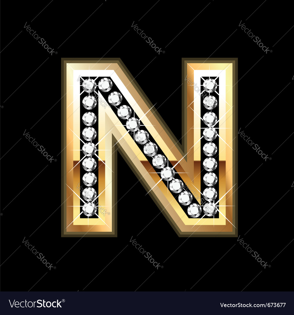 N bling vector | Price: 1 Credit (USD $1)