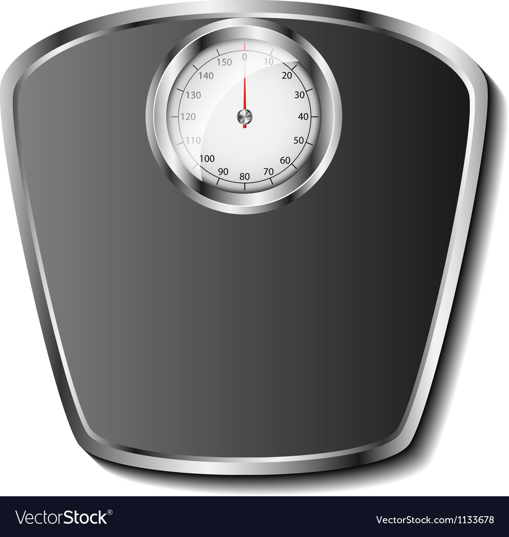 Bathroom scale vector | Price: 3 Credit (USD $3)