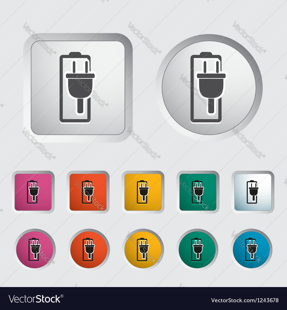 Battery 2 vector | Price: 1 Credit (USD $1)