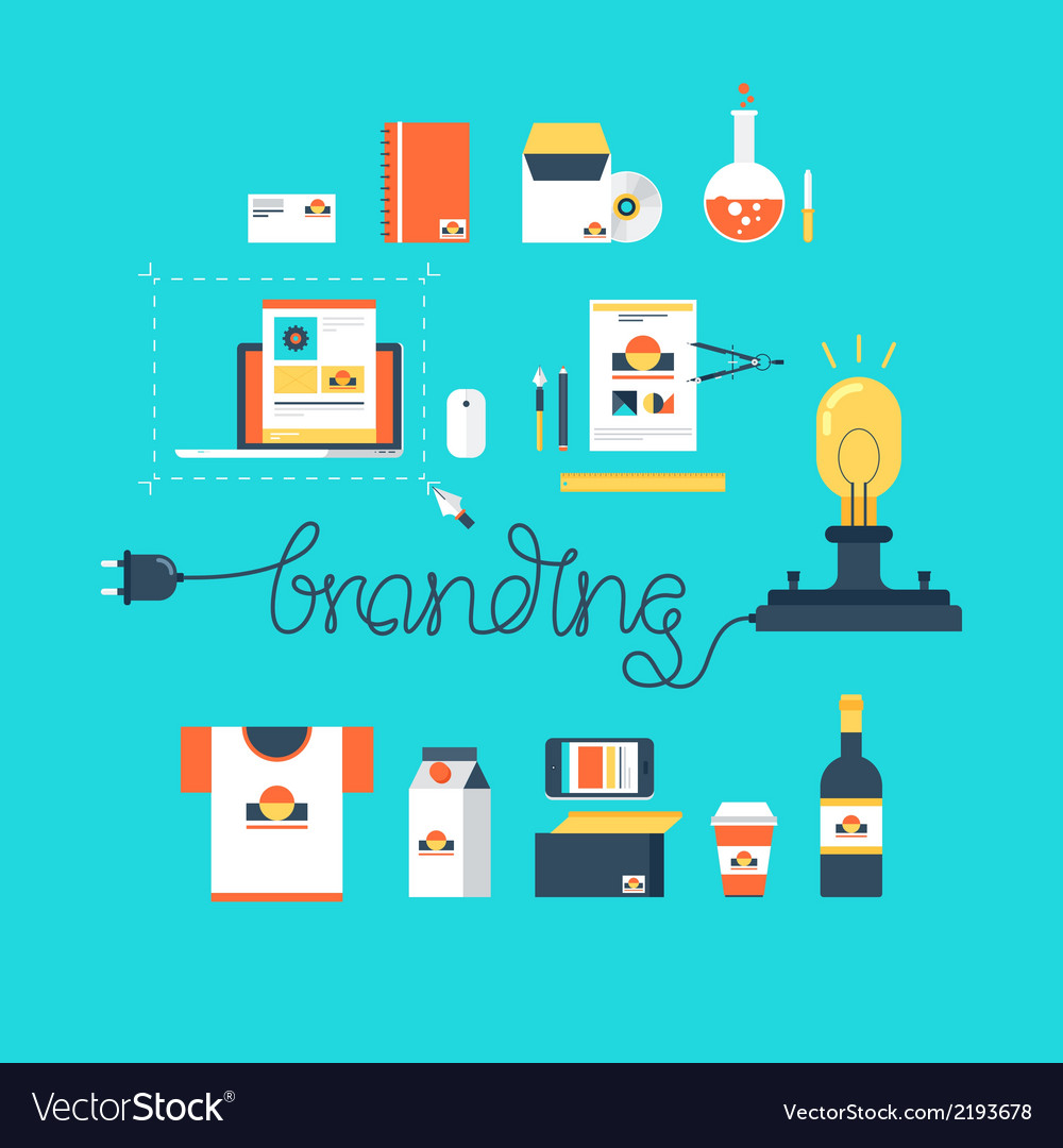 Branding vector | Price: 1 Credit (USD $1)