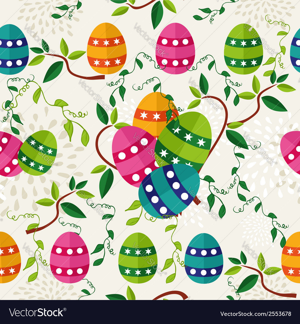 Easter background design vector | Price: 1 Credit (USD $1)