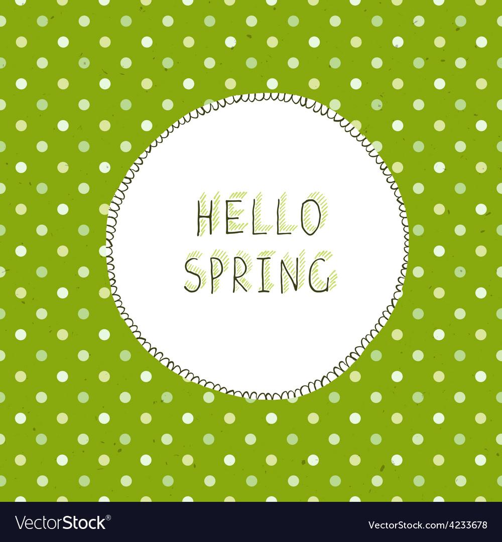 Spring green vector | Price: 1 Credit (USD $1)