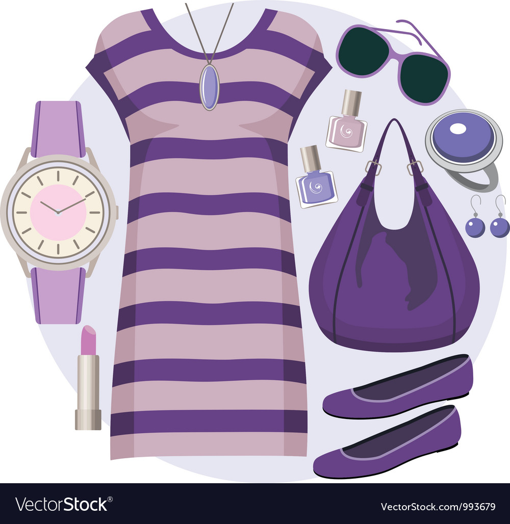 Fashion set with a tunic vector   Price: 1 Credit (USD $1)