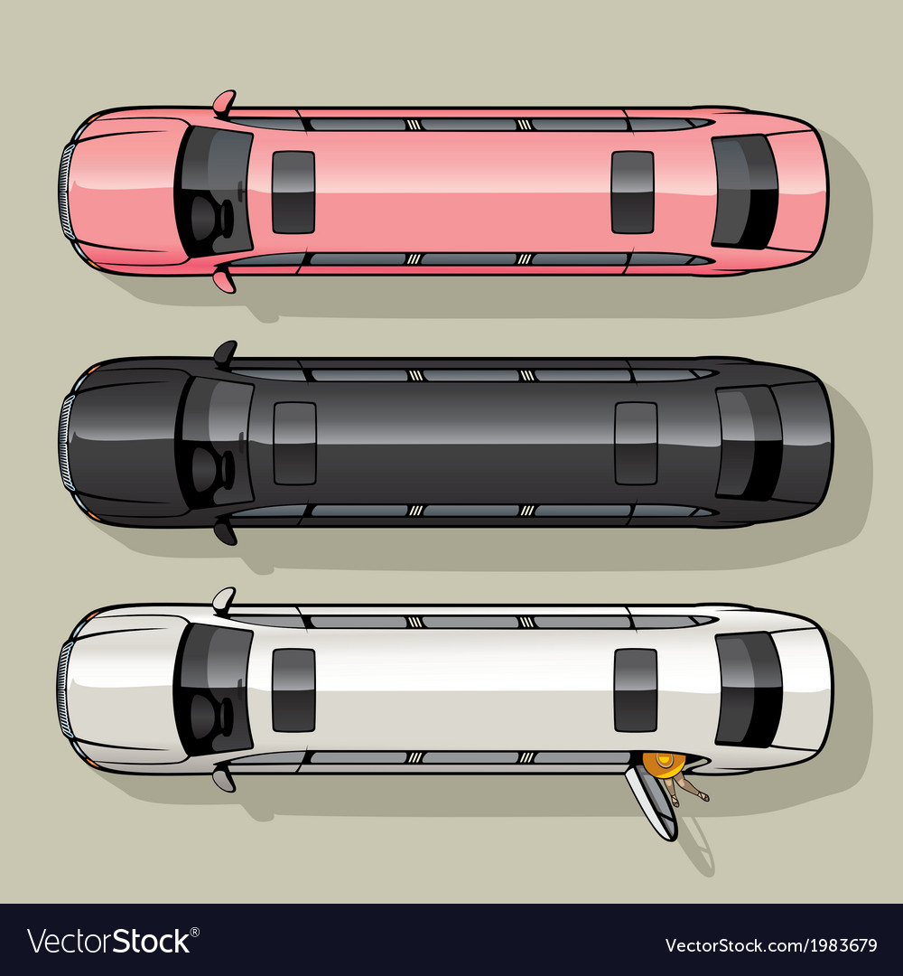 Limo set vector | Price: 1 Credit (USD $1)