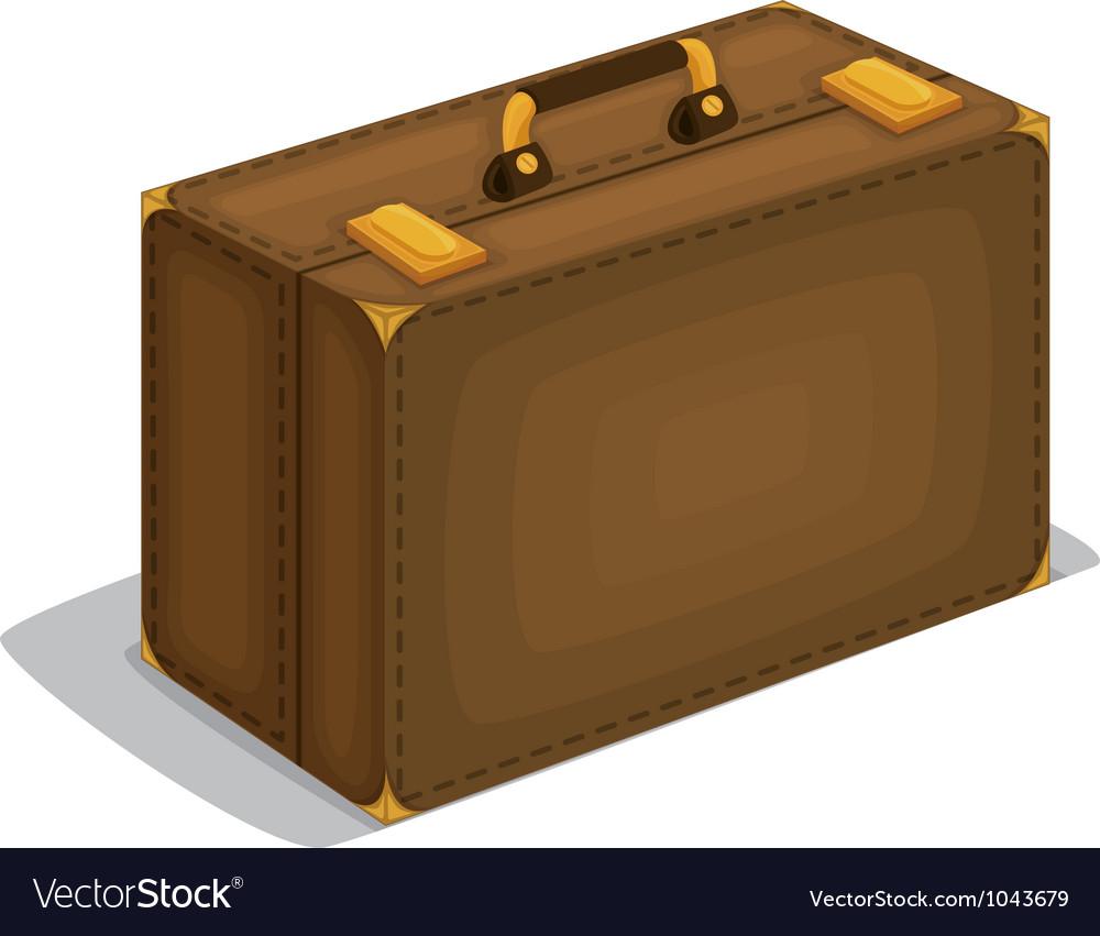 Travel suitcase vector | Price: 1 Credit (USD $1)