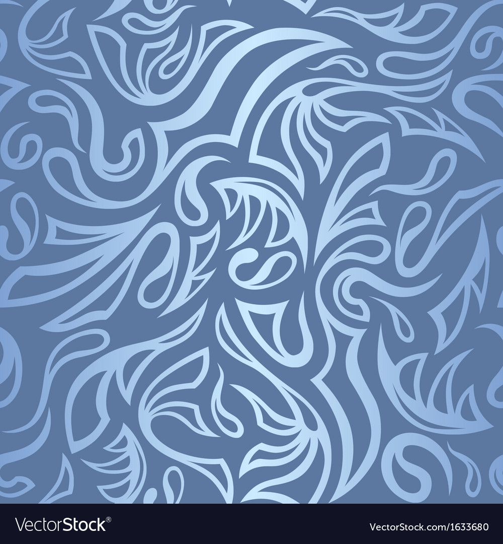 Seamless frost hand-drawn pattern with gradient vector | Price: 1 Credit (USD $1)