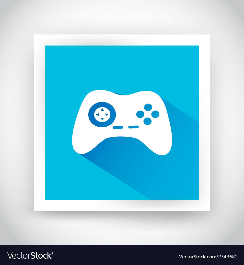 Icon of joystick for web and mobile applications vector | Price: 1 Credit (USD $1)