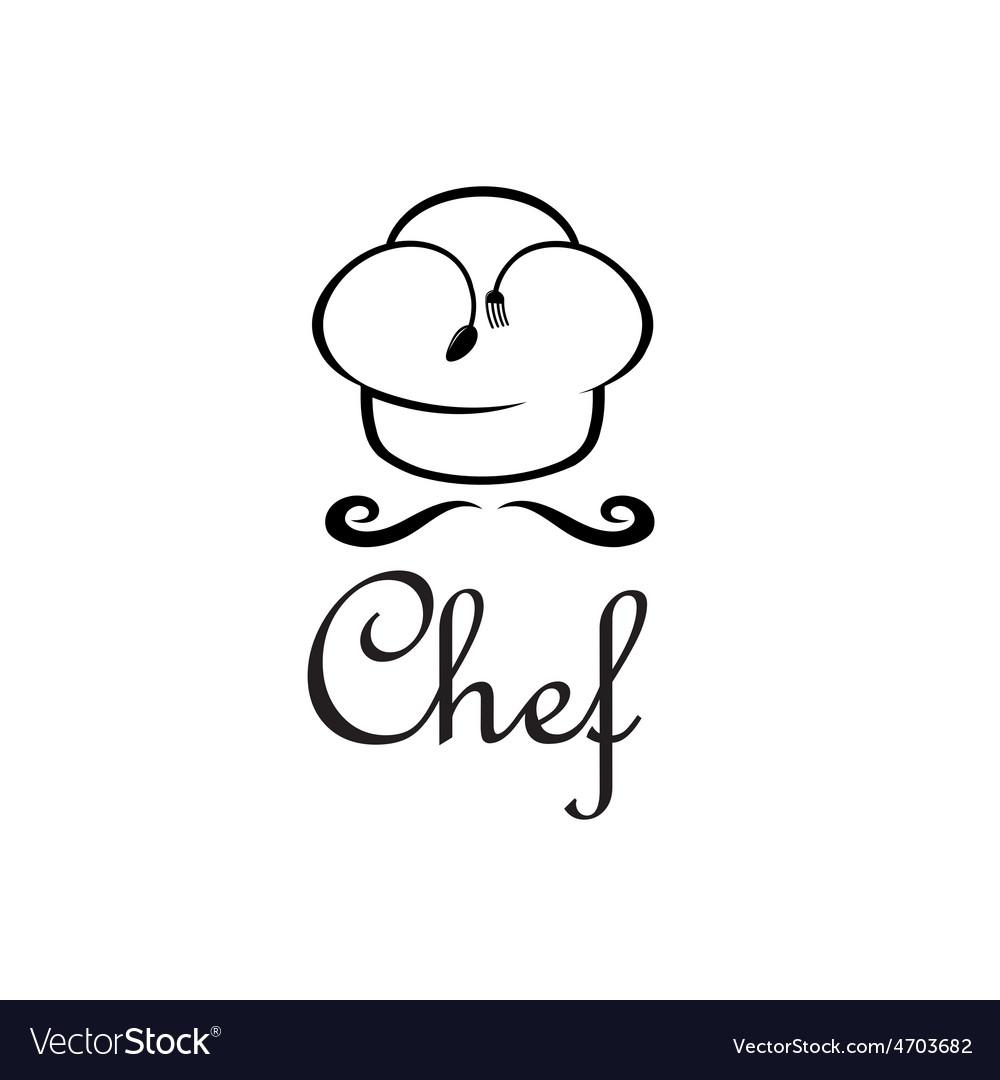 Chef design template vector | Price: 1 Credit (USD $1)
