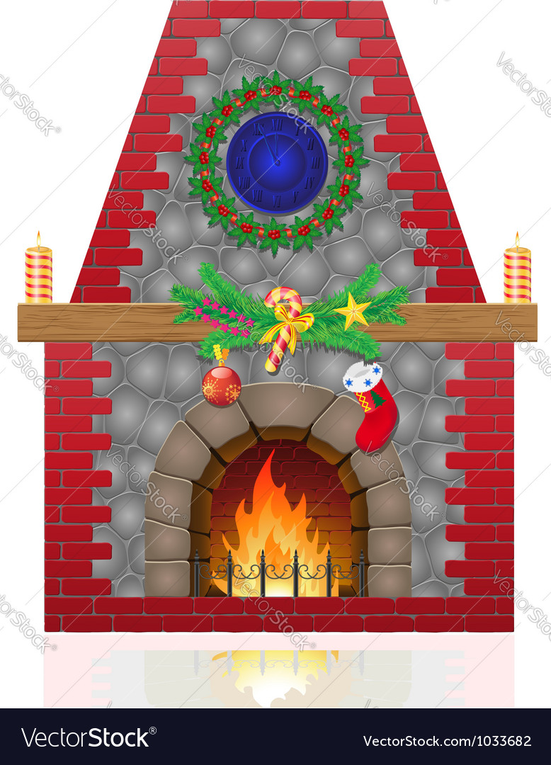 Fireplace 03 vector | Price: 1 Credit (USD $1)