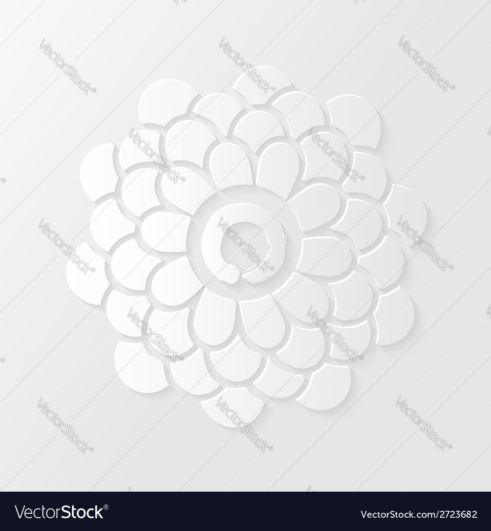 Lotus flower and zen circle vector | Price: 1 Credit (USD $1)